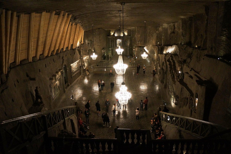 Cappella di Santa Kinga, miniera di sale di Wieliczka (Cracovia, Polonia)