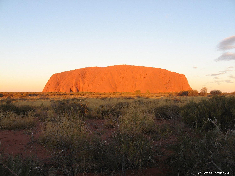 Viaggio in Australia, il rito del tramonto ad Uluru (Ayers Rock, Northern Territory)