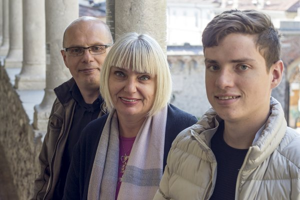 Riccardo, Elisabetta e Stefano