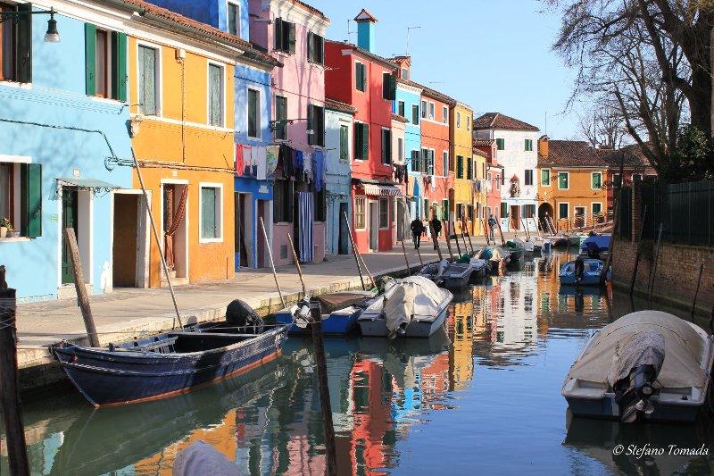Canale Burano Veneto