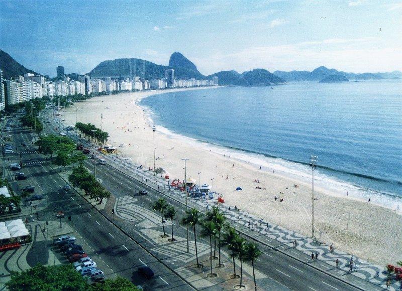 Spiaggia Copacabana Rio de Janeiro