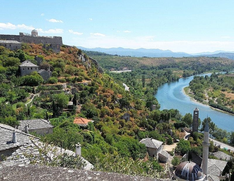 Panorama Počitelj Bosnia Erzegovina