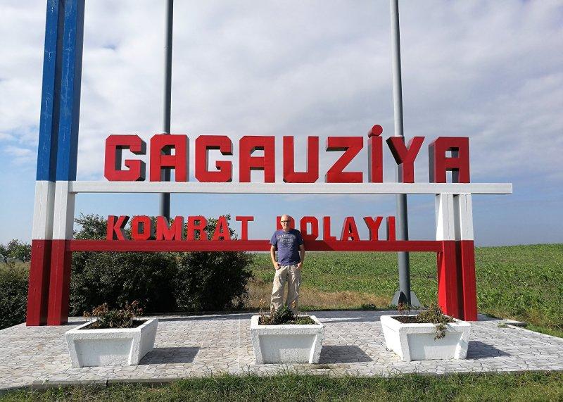 Frontiera tra Gagaùzia e Moldova