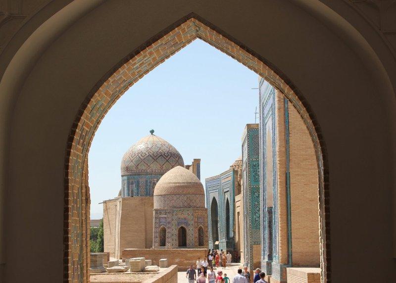 Mausoleo Shah-i-Zinda Samarcanda