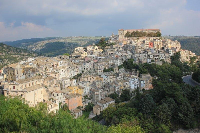 Panorama di Ragusa Ibla Sicilia