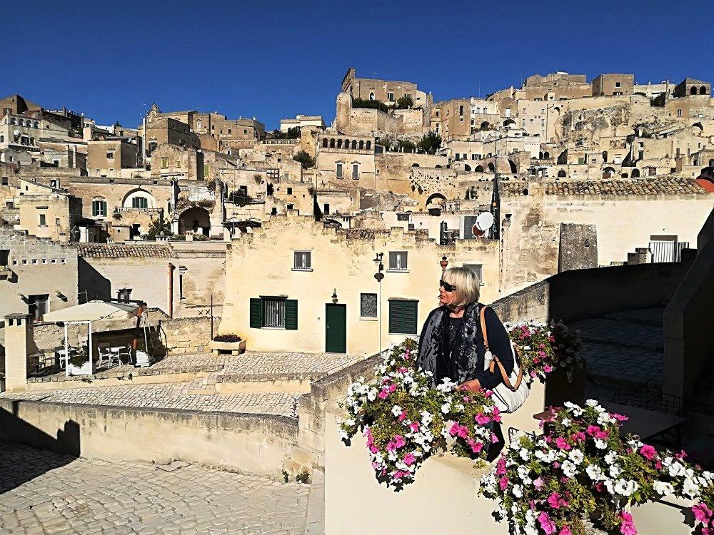 Panorama del Sasso Caveoso a Matera